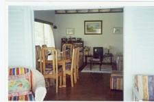 Grenada Villa Rental - Living Room & Dining Area