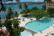 Grenada Villa - The pool at the University Club