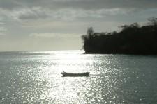 Grenada Villa Rental - Sunset over the bay