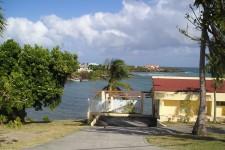 Grenda Villa - A view across the bay