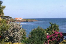 Grenada Villa Rental - A view across the ocean from the property