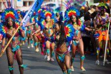 Grenada Carnival scene