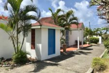 Grenada villa - drive way